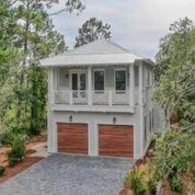 Santa Rosa Beach Single Family Home For Sale: 164 S Gulf Drive