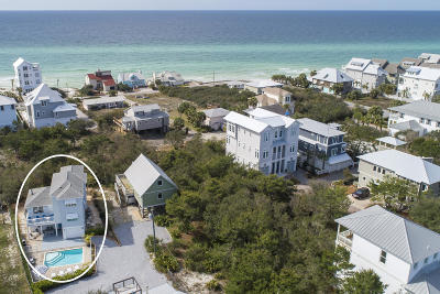 Inlet Beach Single Family Home For Sale: 219 Walton Rose Lane