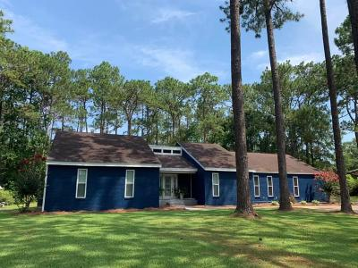 Defuniak Springs Single Family Home For Sale: 180 Lakeside Drive