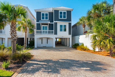 Panama City Beach Single Family Home For Sale: 22217 Front Beach Road