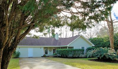 Okaloosa County Single Family Home For Sale: 810 Spanish Moss Trail