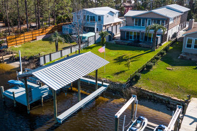 Panama City Beach Single Family Home For Sale: 6432 S Lagoon Drive