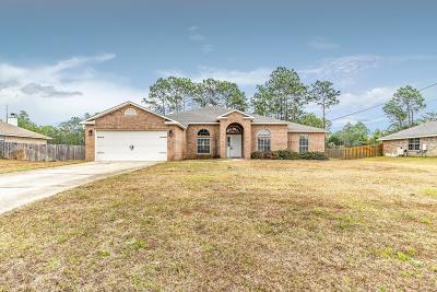 Santa Rosa County Single Family Home For Sale: 2216 Smallwood Drive