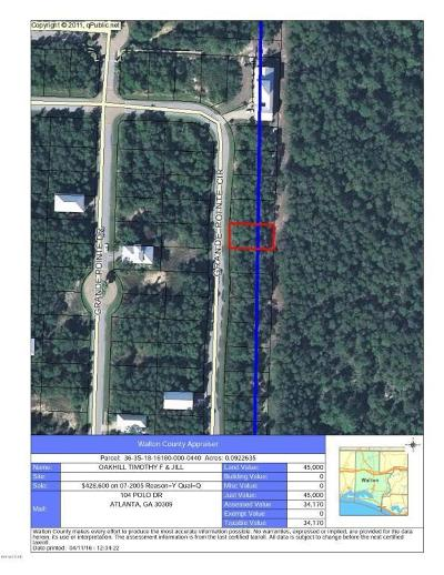 Panama City Beach Residential Lots & Land For Sale: 44 Grande Pointe Boulevard