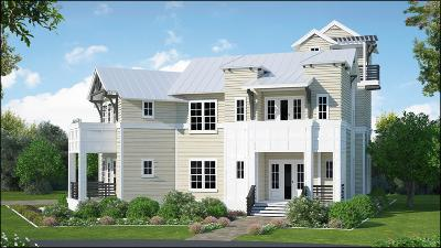 Panama City Beach Single Family Home For Sale: 1 Phase Ii Lot 1 Blk I