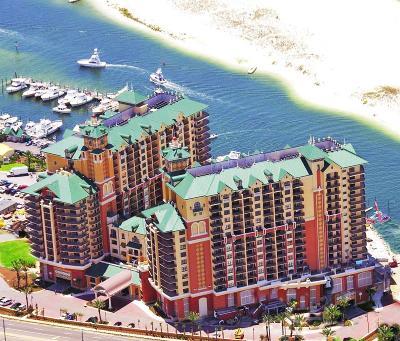 Destin Condo/Townhouse For Sale: 10 Harbor Boulevard #W123