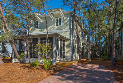Seacrest Single Family Home For Sale: C18 Patina Boulevard