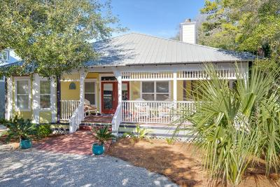 Santa Rosa Beach Single Family Home For Sale: 32 Forest Street
