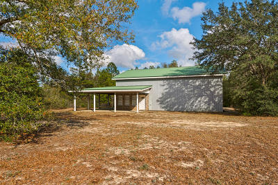 Mossy Head Single Family Home For Sale: 1394 Hinote Road