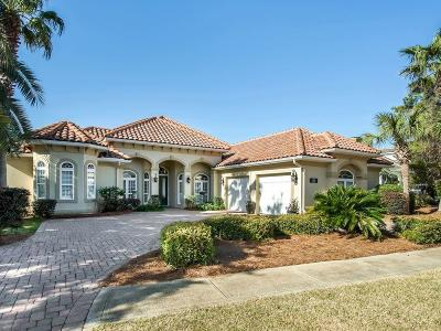 Destin FL Single Family Home For Sale: $875,000