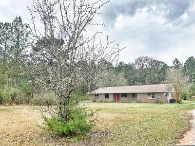 Defuniak Springs Single Family Home For Sale: 3761 County Hwy 1084