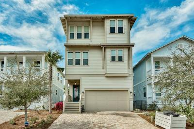 Santa Rosa Beach Single Family Home For Sale: 254 Gulfview Circle