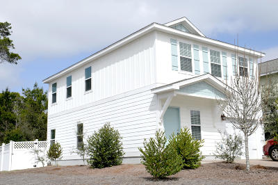 Inlet Beach Single Family Home For Sale: 54 Topside Drive