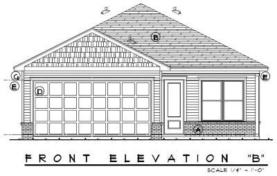Freeport Single Family Home For Sale: Lot 16 B Marsh North Landing