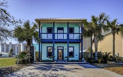 Panama City Beach Single Family Home For Sale: 6605 Beach Drive