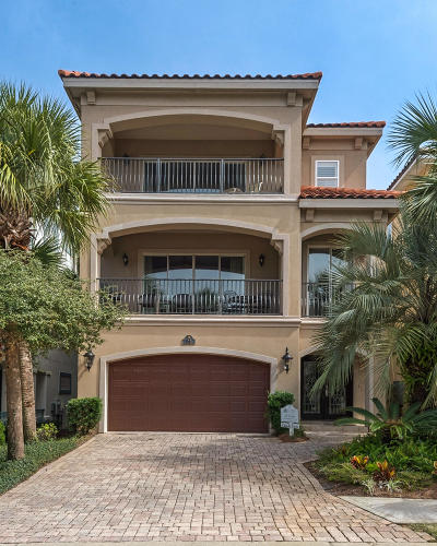 Destin Single Family Home For Sale: 34 Calypso Cay