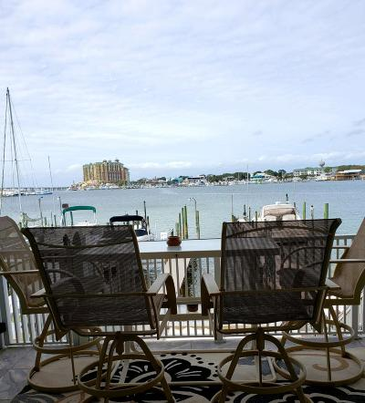 Holiday Isle Condo/Townhouse For Sale: 365 Gulf Shore Drive #UNIT 4