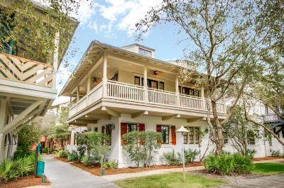 Rosemary Beach Single Family Home For Sale: 113 E Long Green Road