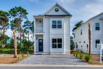 Inlet Beach Single Family Home For Sale: 51 Valdare Way