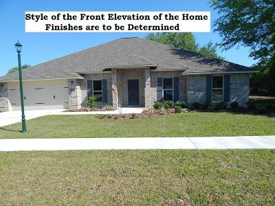 Crestview FL Single Family Home For Sale: $325,900