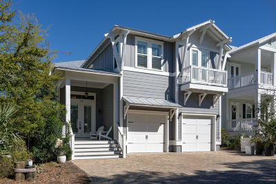 Santa Rosa Beach FL Single Family Home For Sale: $790,000