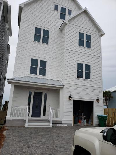Panama City Beach Single Family Home For Sale: 20125 W Front Beach Road #w