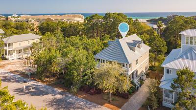 Santa Rosa Beach Single Family Home For Sale: 123 W Bartons Way