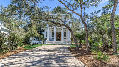 Santa Rosa Beach Single Family Home For Sale: 12 Canal Street