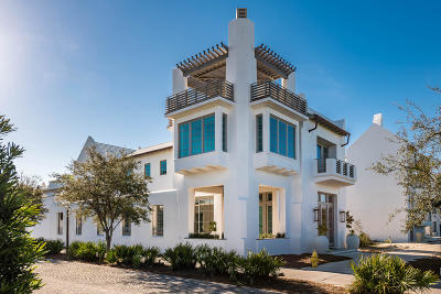 Alys Beach Single Family Home For Sale: 8 Kings Castle Court