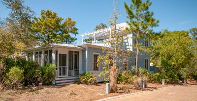 Inlet Beach Single Family Home For Sale: 9 Creek Park Lane