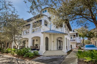 Rosemary Beach Single Family Home For Sale: 55 Hope Town Lane