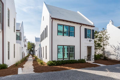 Alys Beach Single Family Home For Sale: 55 Spice Berry Alley
