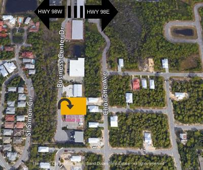 Miramar Beach Residential Lots & Land For Sale: 239 S Business Center Drive #Lot 10