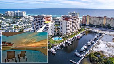 Destin Condo/Townhouse For Sale: 725 Gulf Shore Drive #UNIT 901