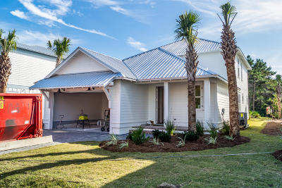 Miramar Beach Single Family Home For Sale: Lot 13 Ruth Street