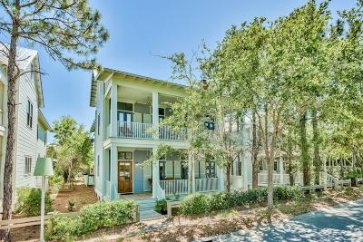 Watercolor Single Family Home For Sale: 134 Spartina Circle