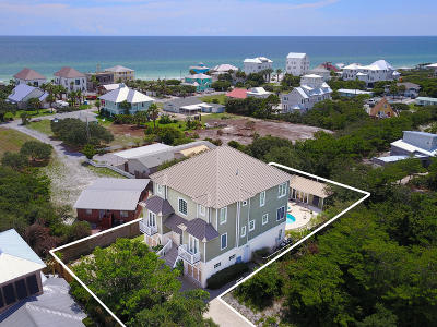 Inlet Beach Single Family Home For Sale: 58 High Tide Way