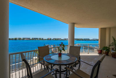 Fort Walton Beach Condo/Townhouse For Sale: 124 SW Miracle Strip Parkway #401