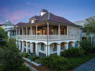 Rosemary Beach Single Family Home For Sale: 115 Rosemary Avenue