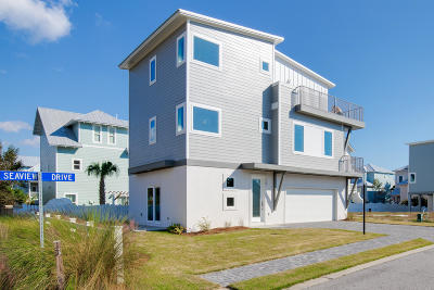 Inlet Beach Single Family Home For Sale: Seaview Drive #Lot 1