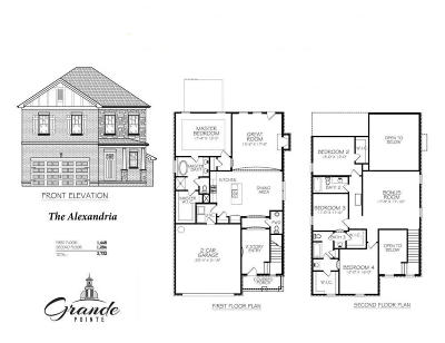 Inlet Beach Single Family Home For Sale: Lot 40 Grande Pointe Drive