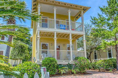 Santa Rosa Beach Single Family Home For Sale: 460 Hidden Lake Way