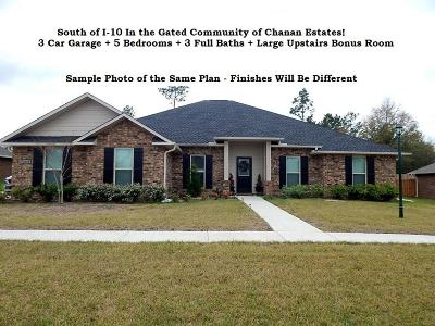 Crestview Single Family Home For Sale: 4707 Chanson Crossing
