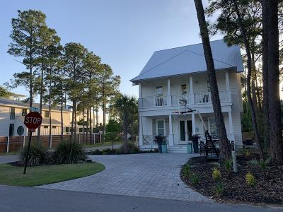 Grayton Beach Single Family Home For Sale: 120 Magnolia Street