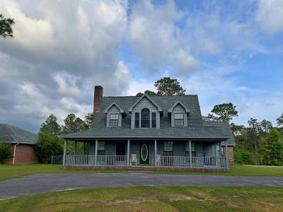 Defuniak Springs Single Family Home For Sale: 1136 Ten Lake Drive
