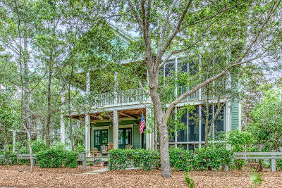 Santa Rosa Beach Single Family Home For Sale: 362 Western Lake Drive
