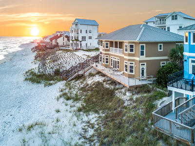 Inlet Beach Single Family Home For Sale: 256 S Wall Street