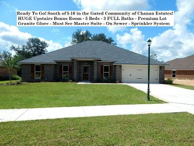 Crestview Single Family Home For Sale: 4713 Chanson Crossing Crossing