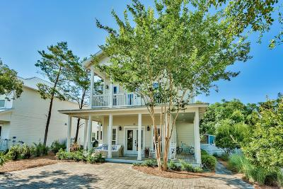 Inlet Beach Single Family Home For Sale: 44 S Grande Pointe Dr