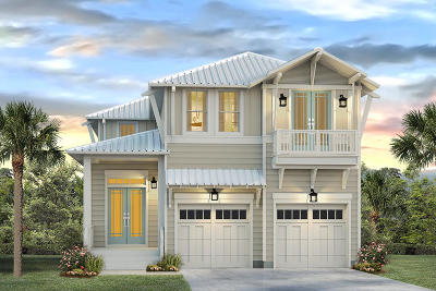 Inlet Beach Single Family Home For Sale: 48 W Crabbing Hole Lane #Lot 004